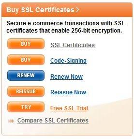 GeoTrust SSL Gratuito di prova