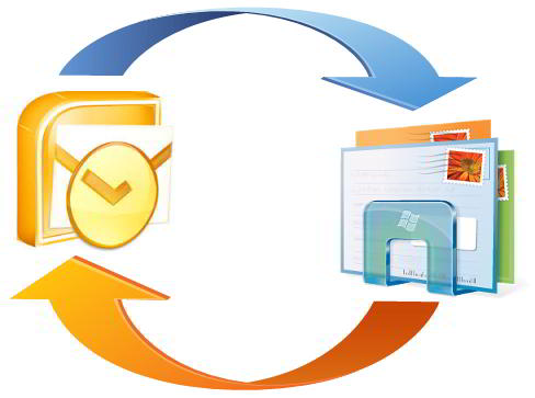 Importare le mail da Microsoft Outlook a Windows Live Mail.
