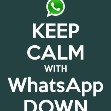 #whatsappdown : Whatsapp continuano i problemi